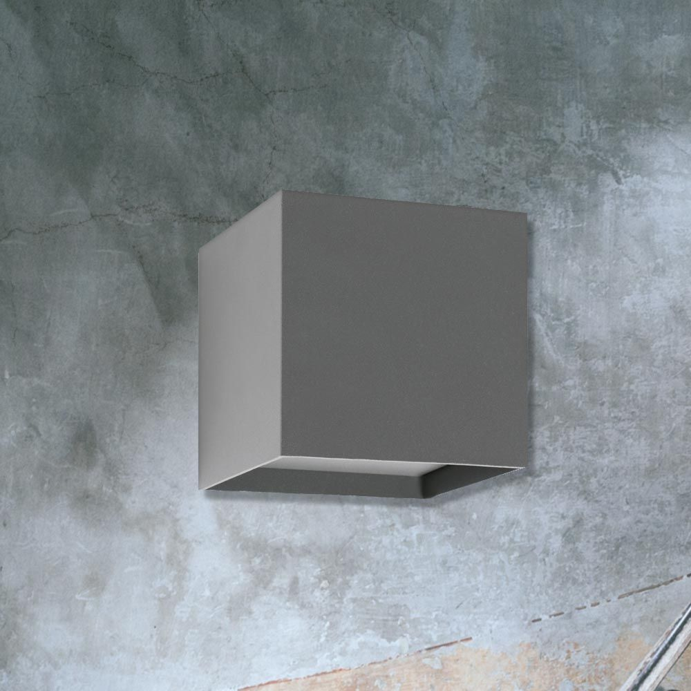 Outdoor cube wall light cl 33714 cl cube and outdoor walls outdoor cube wall light cl 33714 cl 33714 is a grey outdoor cube wall aloadofball Image collections