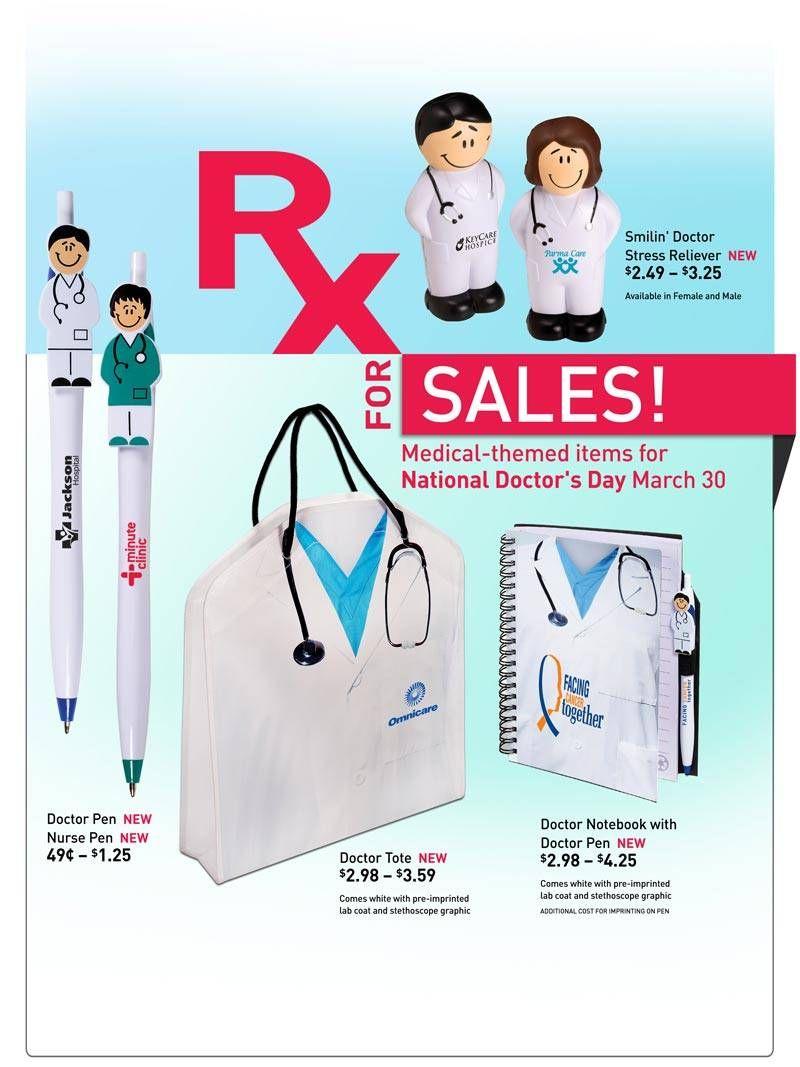 Doctor & Medical Themed Awards & Gifts. Health care promotional products. Promotional items and custom printed gift ideas for business promotion at ...
