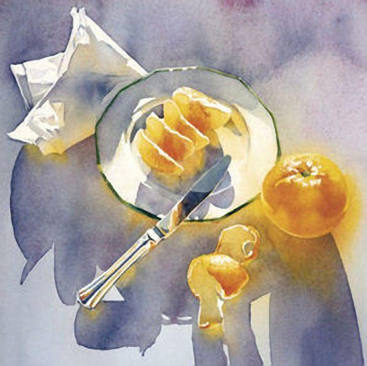 Marlies Merk Najaka Famous Artists Watercolor Paintings Painting