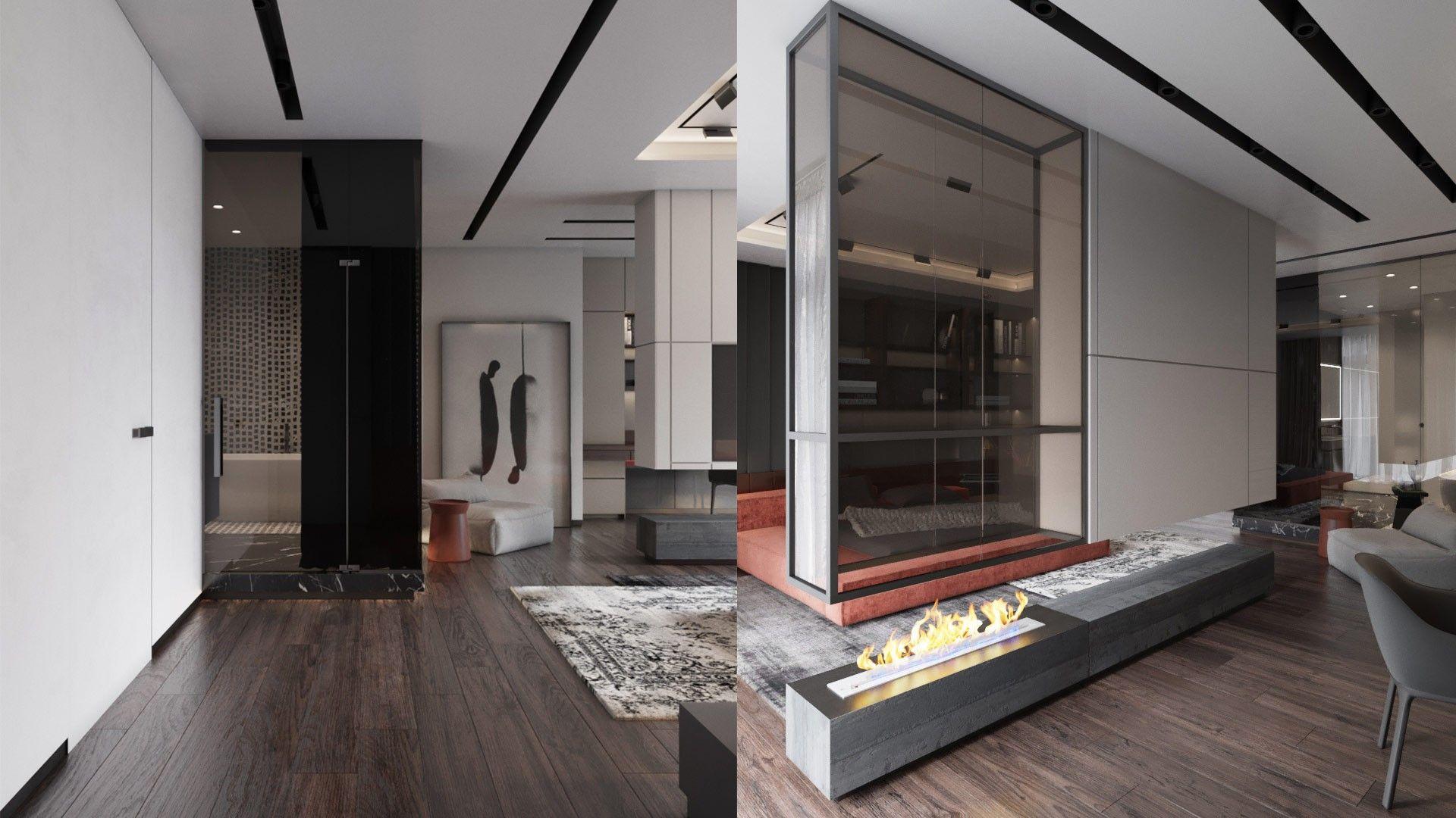 Iqosa apartment in park avenue vip ffe tv wall pinterest
