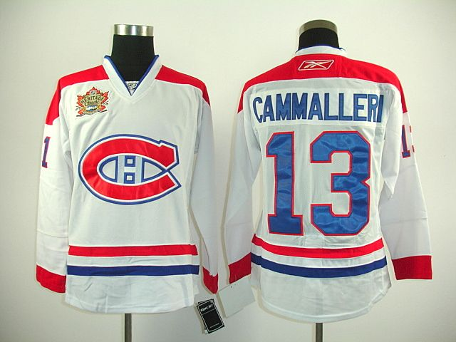 Montreal Canadiens 13 Michael CAMMALLERI 2011 HERITAGE Classic Jersey 936326c2a4f