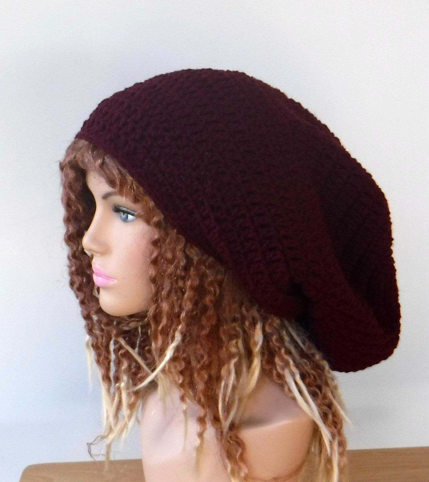 95797247396 Blue Long Dread tam hat