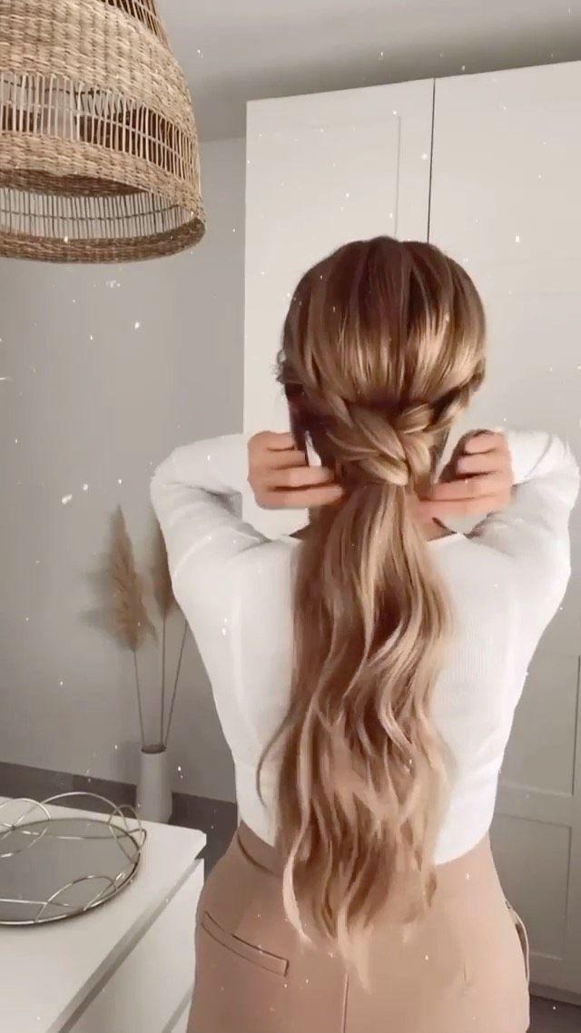 hairextensionmagazine on Instagram: Boho Ponytail