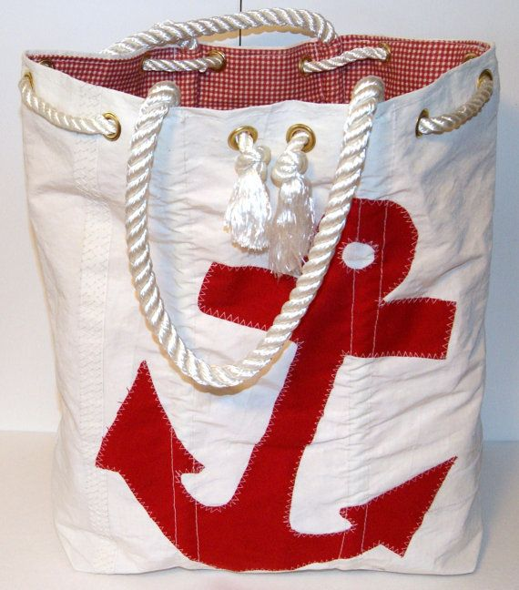 My mr-in-law's awesome recycled sail bags for sale on etsy!