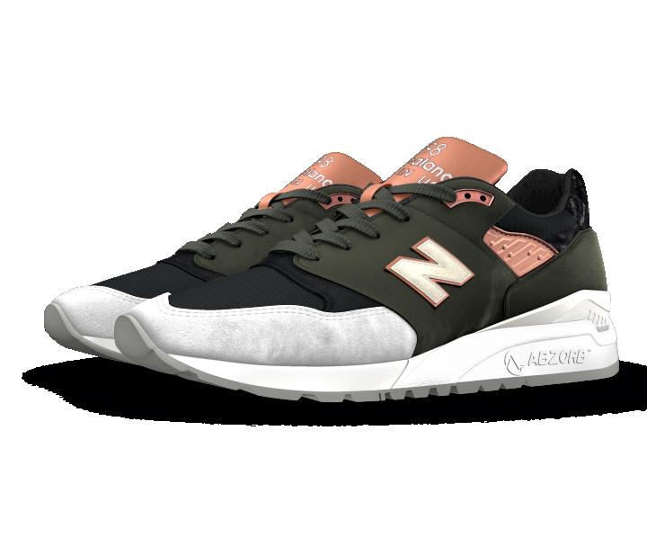 New Balance Premium Custom 998 Men's & Women's Explore Shoes - (US998-PREMIUM) gJEj9mg