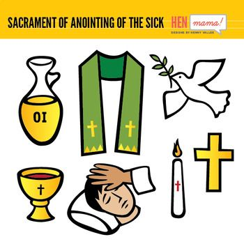 Sacrament Of Anointing Of The Sick Clip Arts Pinterest Sick And