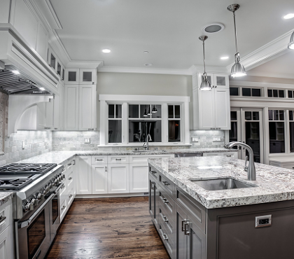 contemporary-kitchen-white-ice-granite-countertops-modern-kitchen ...