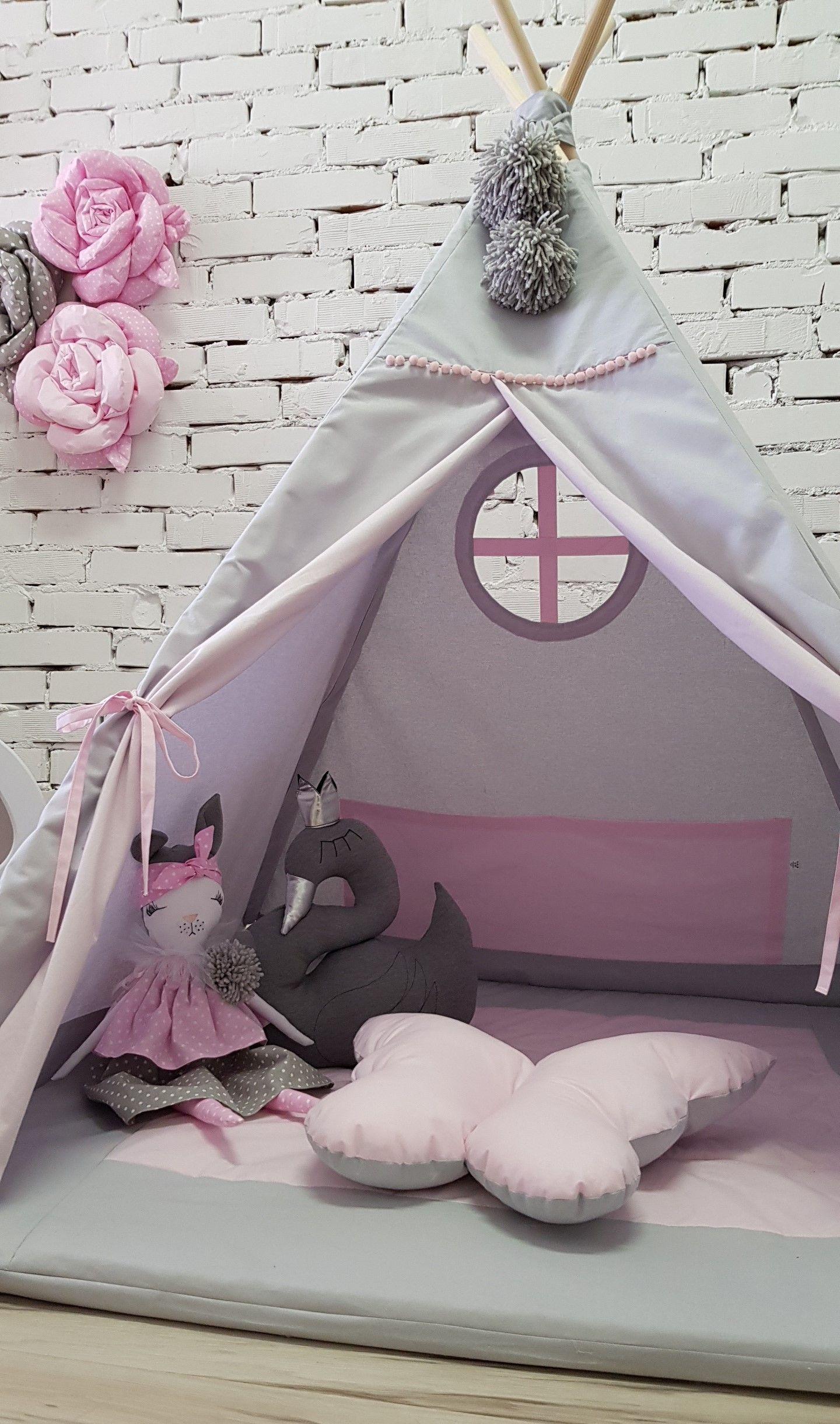 Namiot Dla Dzieci Tipi Mata Poduszki Bajkowe 7883467654 Oficjalne Archiwum Allegro Baby Mobile Home Decor Decor
