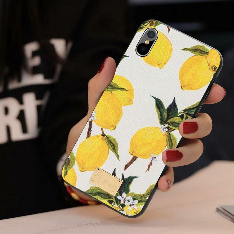 fcf5480a8db7 dolce gabbana lemon iphone x case by Famacases provides a protective cover  the back and sides