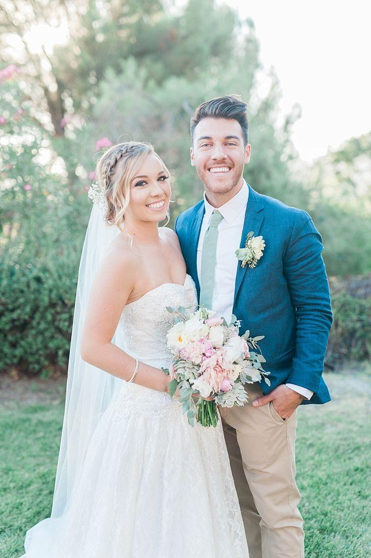 Soft blush u sage green wedding in california weddings pinterest