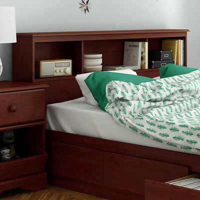 South Shore Little Treasures Bookcase Headboard Size: Full
