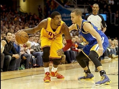 5129f460e122 Duel  Stephen Curry vs. Kyrie Irving