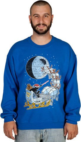 Star Wars Darth Vader Sleigh Christmas Sweater stuff I must have