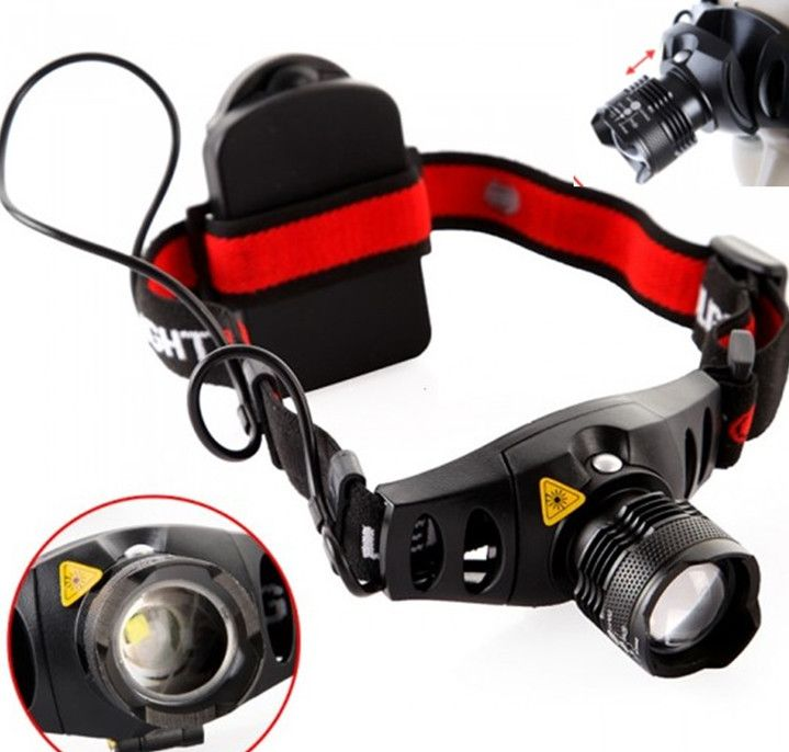 Cree Q5 1200 Lumen Led Testa Torcia Testa Della Lampada Testa Flash Di Luce Di Campeggio Faro Di Illuminazion With Images Outdoor Headlamp Camping Headlight Headlamp Light