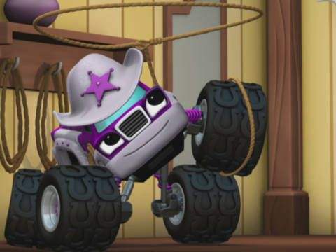Blaze and the Monster Machines Giddy-Up with Starla Nick Jr.