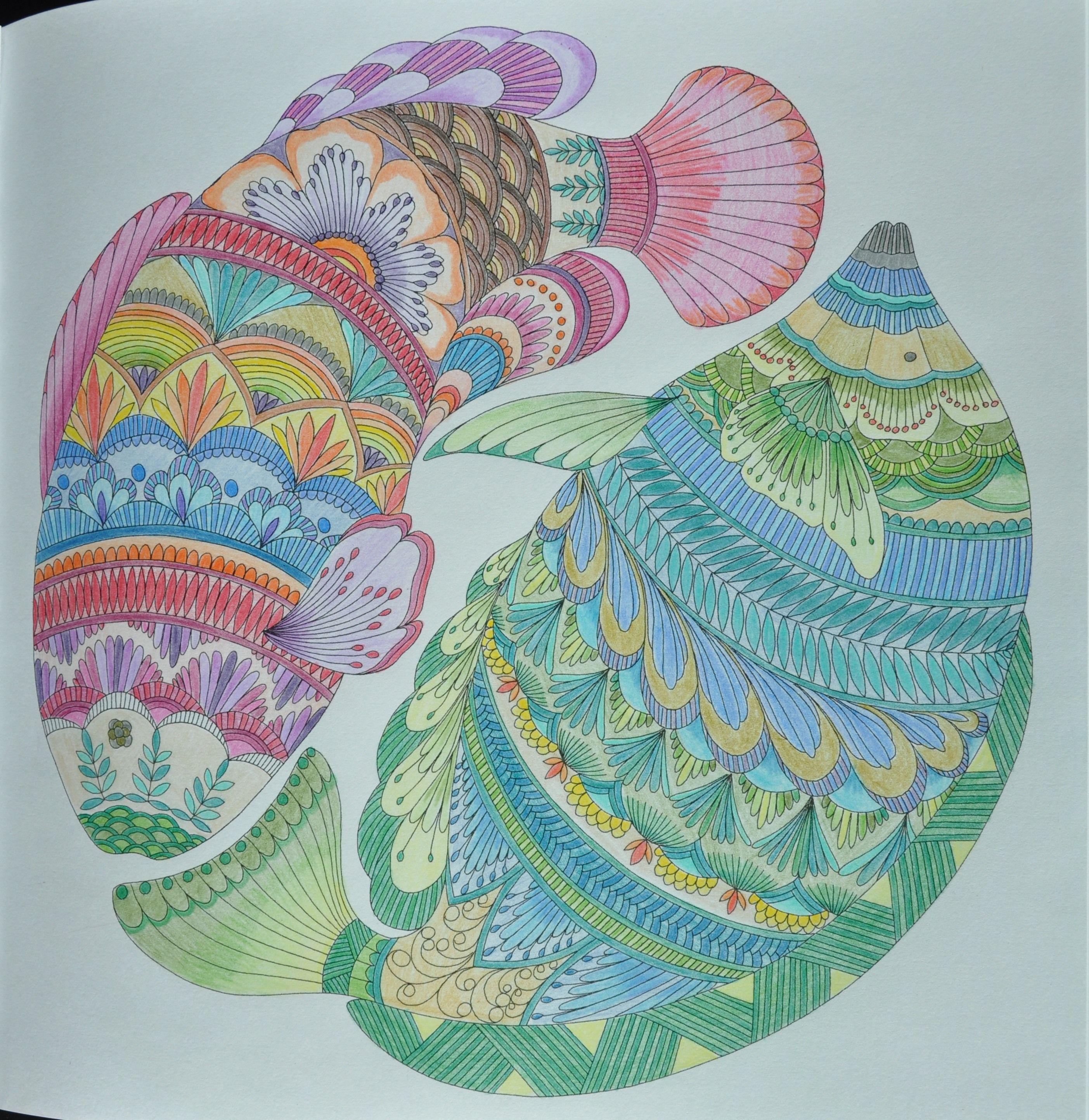 Zendoodle coloring enchanting gardens - Reino Animal De Millie Marotta