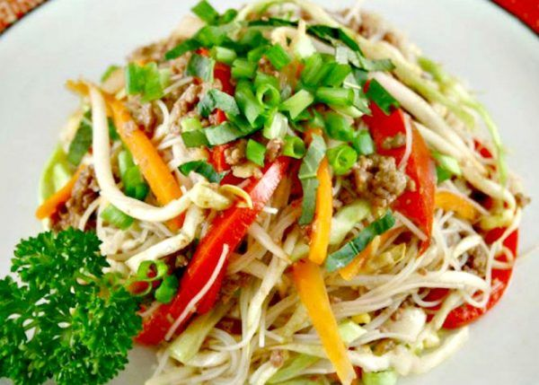 Beef Chow Mein Makeover Recipe Beef Chow Mein Healthy Mummy