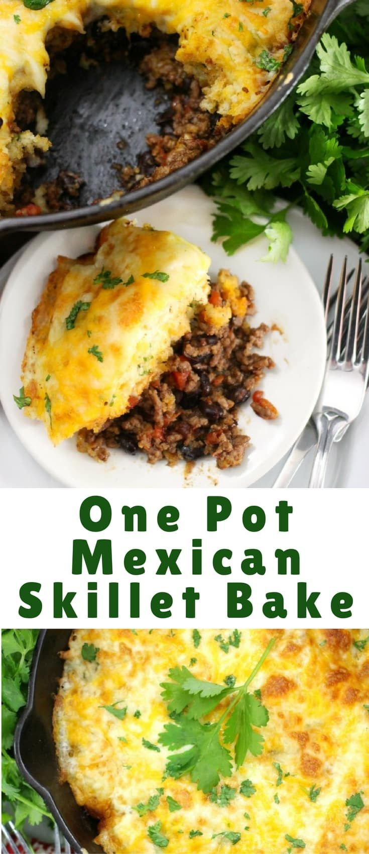 This one pot mexican skillet bake beef and cheese cobbler recipe this one pot mexican skillet bake beef and cheese cobbler recipe is the perfect easy forumfinder Gallery