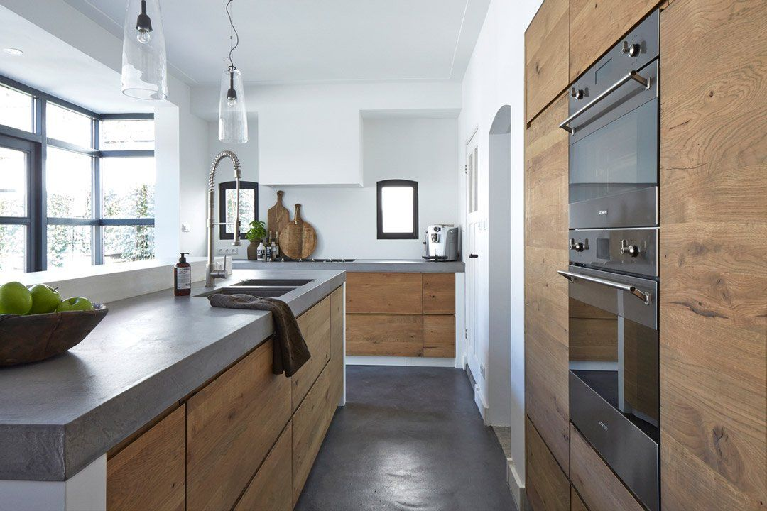 100 idee di cucine moderne con elementi in legno | Kitchen ideas ...