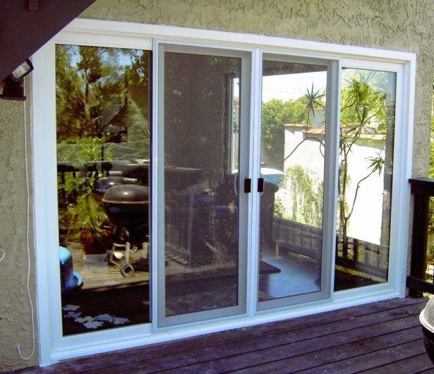 Living Room Patio Doors French Triple Pane Sliding Patio Doors 4 Door  Sliding Patio Doors Metal