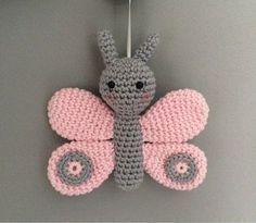 Örgü Oyuncak Kelebek Yapımı #knittedtoys