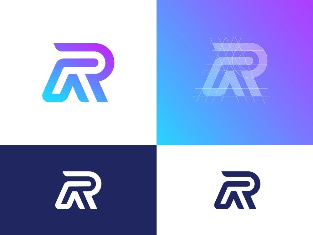 Letter R Logo Design Exploration Unused For Sale Logo Design Lettering Letter R