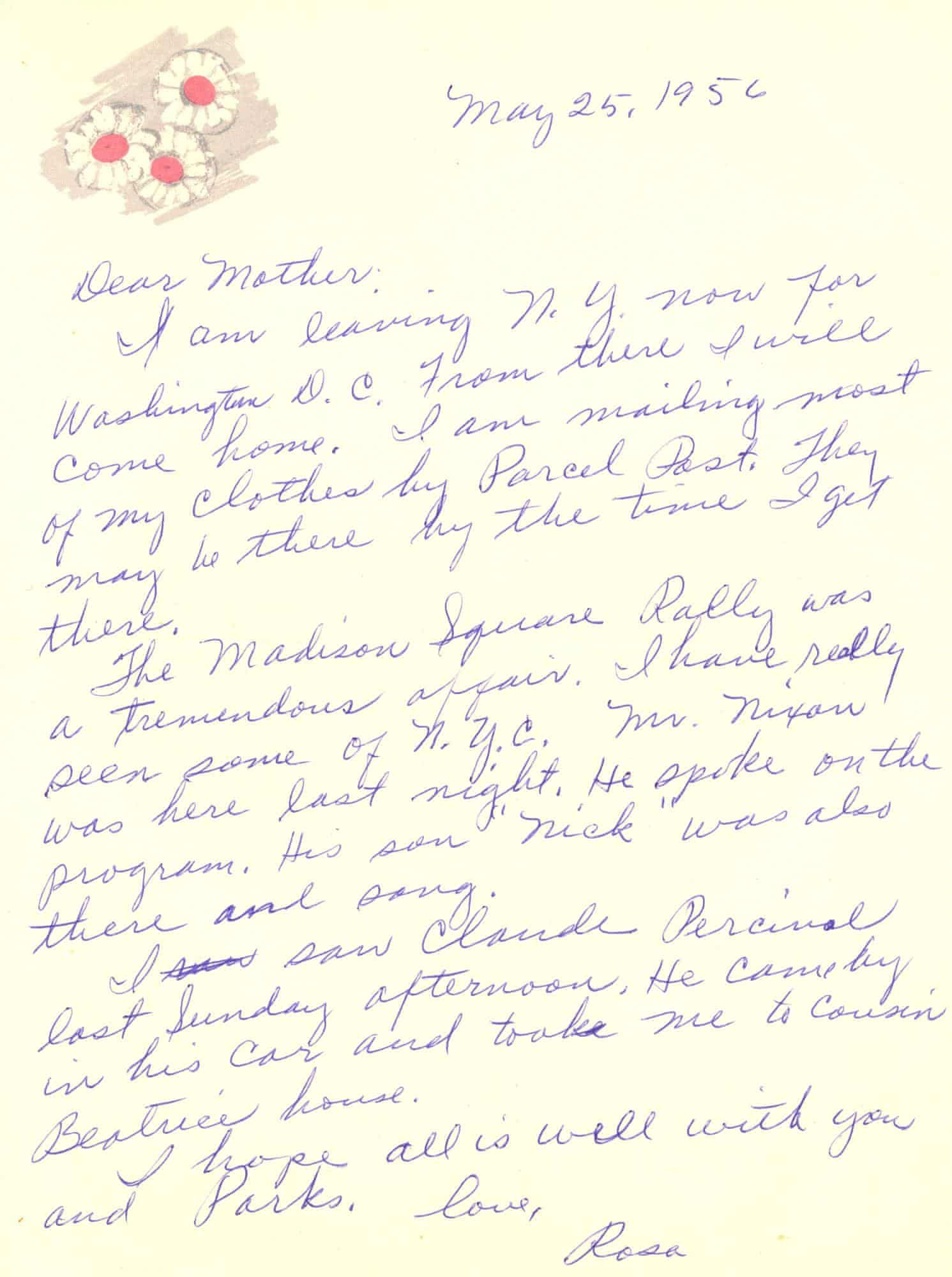 Rosa Parks Archive Goes On Display At Library Of Congress