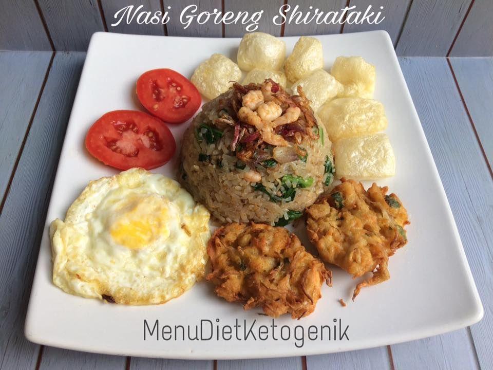 Resep Nasi Goreng Kampung Spesial Shirataki Resep Keto Makanan