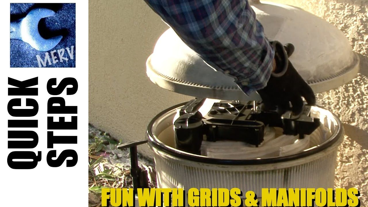 De filter grid replacement and cleaning tricks for hayward