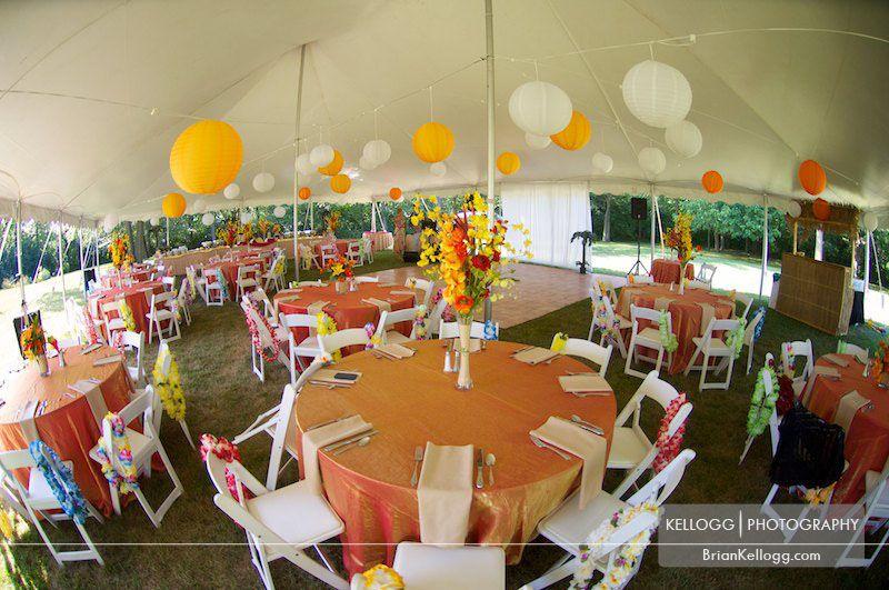 Hawaii Theme Wedding Hawaiian Themed With Patrica And Paul