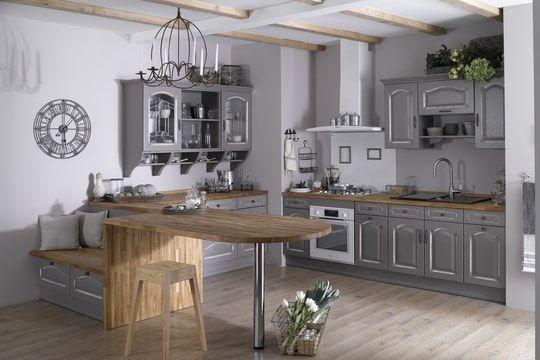 Petite cuisine  découvrez toutes nos inspirations - Elle Décoration - cuisine avec passe plat