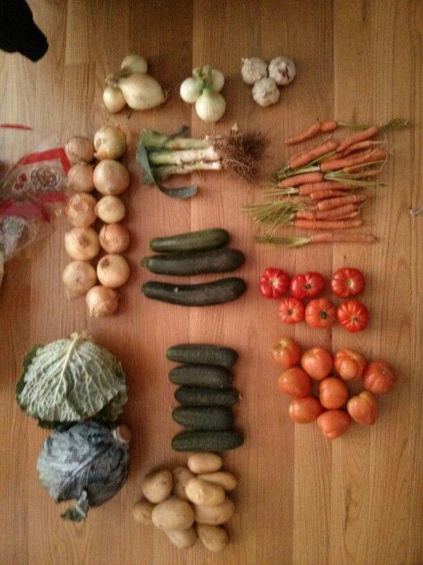 Verduras Naranjas Forcadell