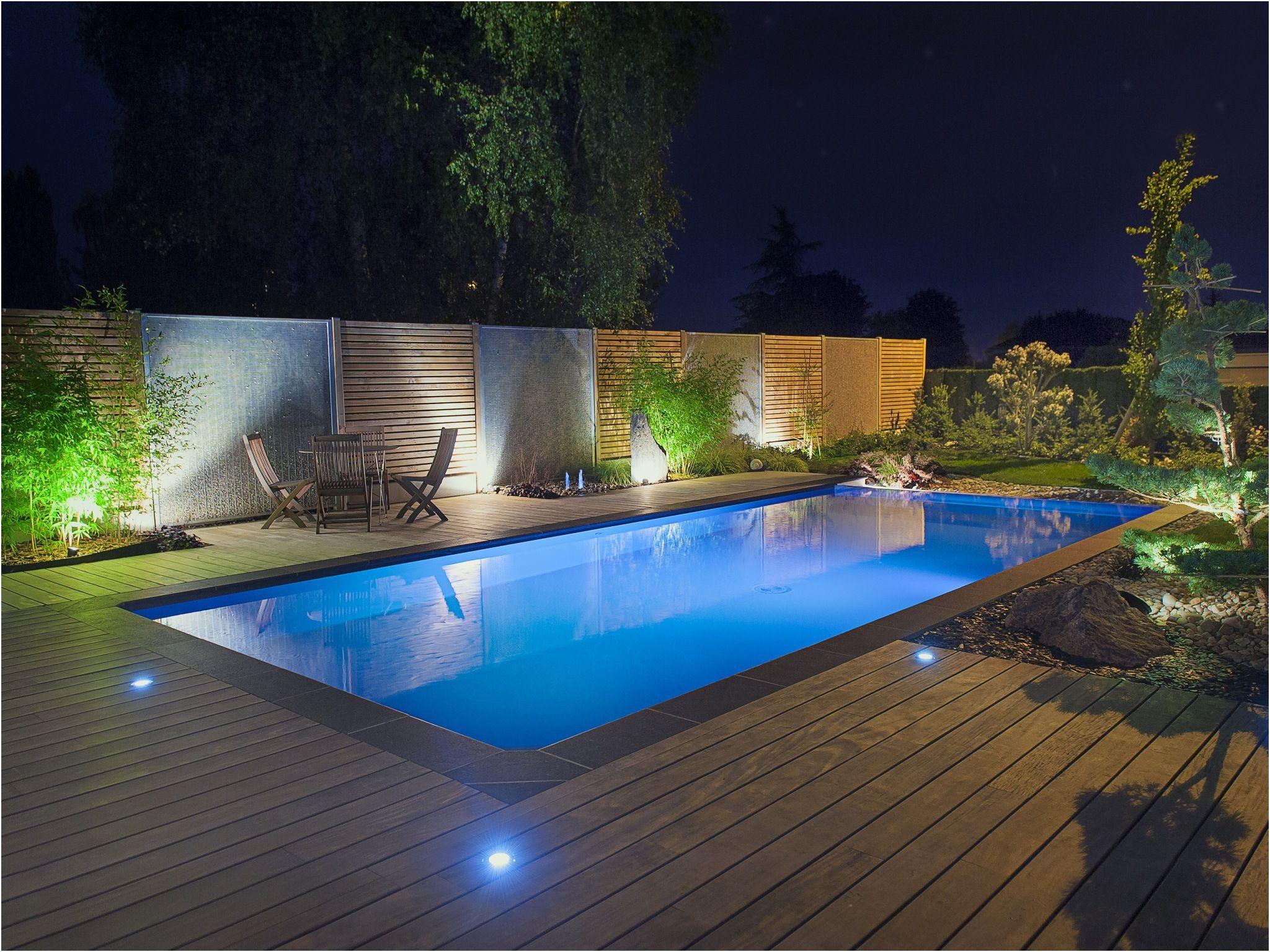 Idee Eclairage Terrasse Piscine eclairage plage piscine extérieure . 19 plus récent