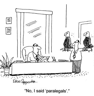 Paralegal Funnies Provide Stress Relief On Social Media Pages