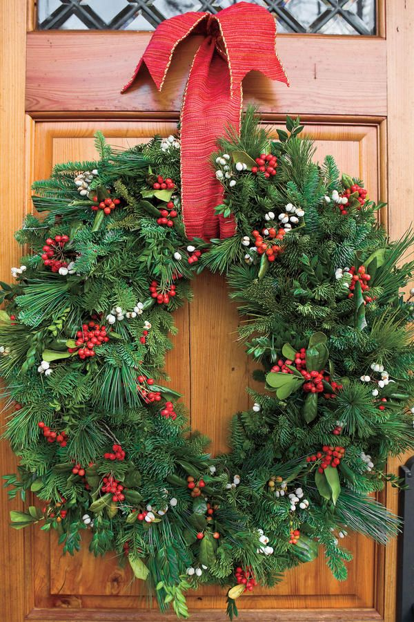Our Best-Ever Holiday Decorating Ideas Pvc pipe, Wreaths and Holidays