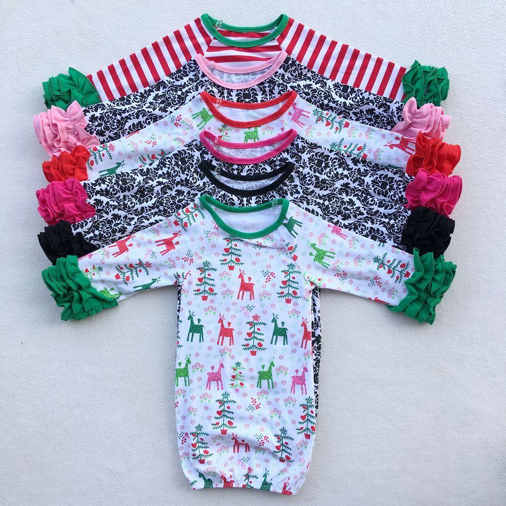 Newborn sleeping sack girls icing sleeve nightgowns | Baby Girls ...