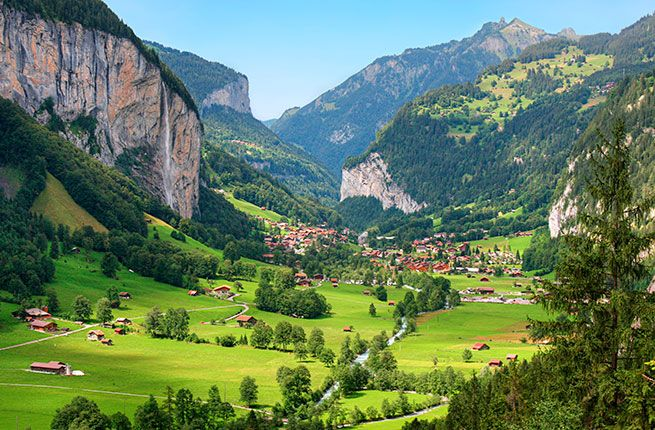 A 7-Day Road Trip Through Switzerland   Places to go ...