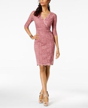 ea47ba9d7c1 Thalia Sodi Lace Sheath Dress