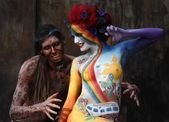 Photo of Topic world body painting festival in germany, half an hour from trier … can n…
