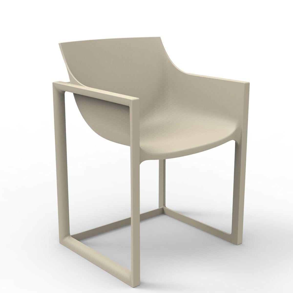 Wall Street Chair Vondom Ensemble De Chaises A Diner Mobilier Design Fibre De Verre
