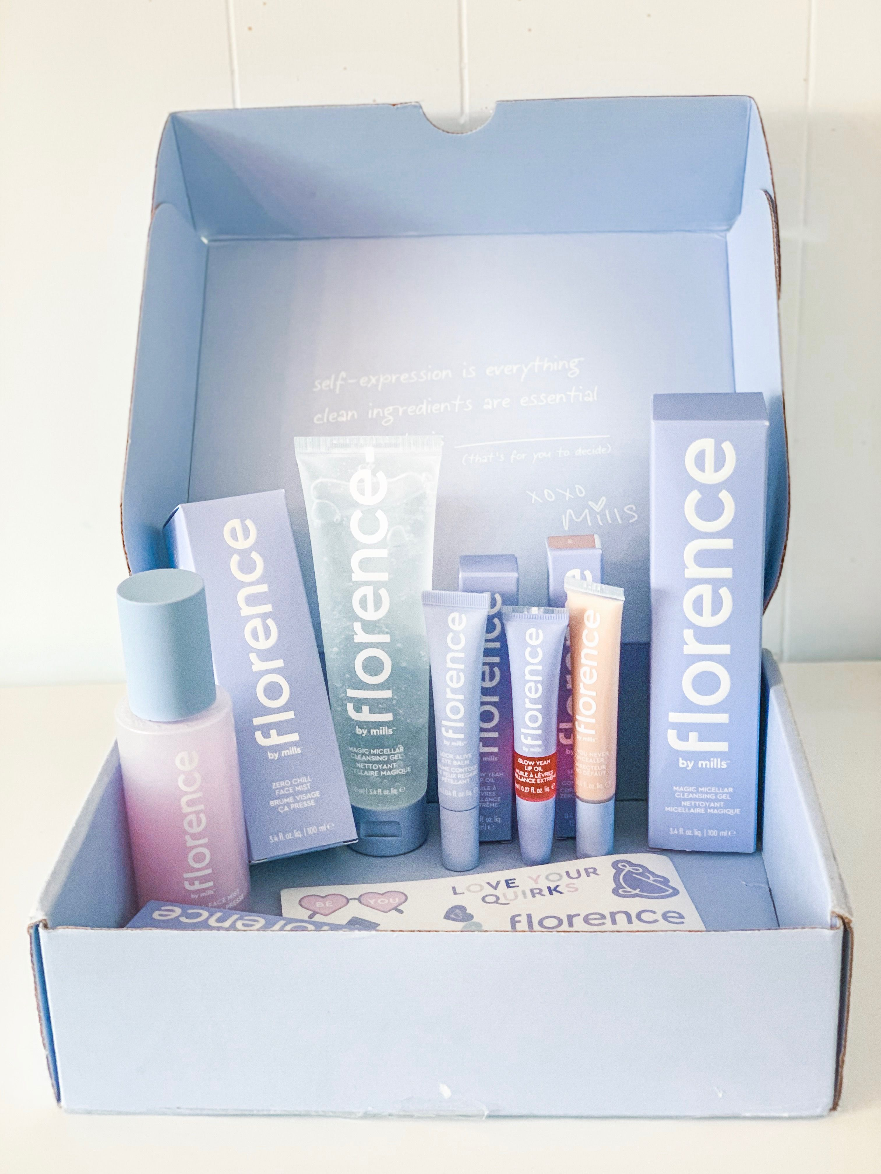 Florence by mills 💜🐳💜🐳 Skin care essentials, Florence