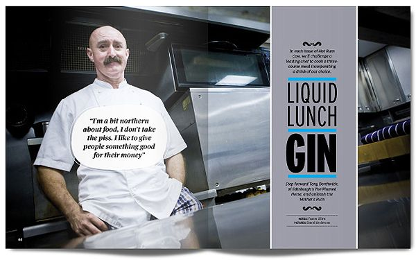 MagSpreads - Editorial Design and Magazine Layout Inspiration: HOT RUM COW MAGAZINE: Issue 1