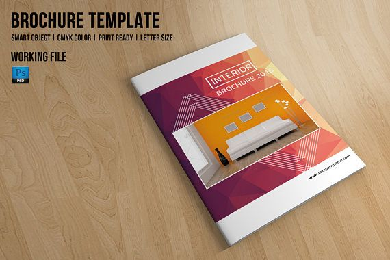 Interior Catalog Interior Brochure Template Photoshop Pinterest - Mini brochure template