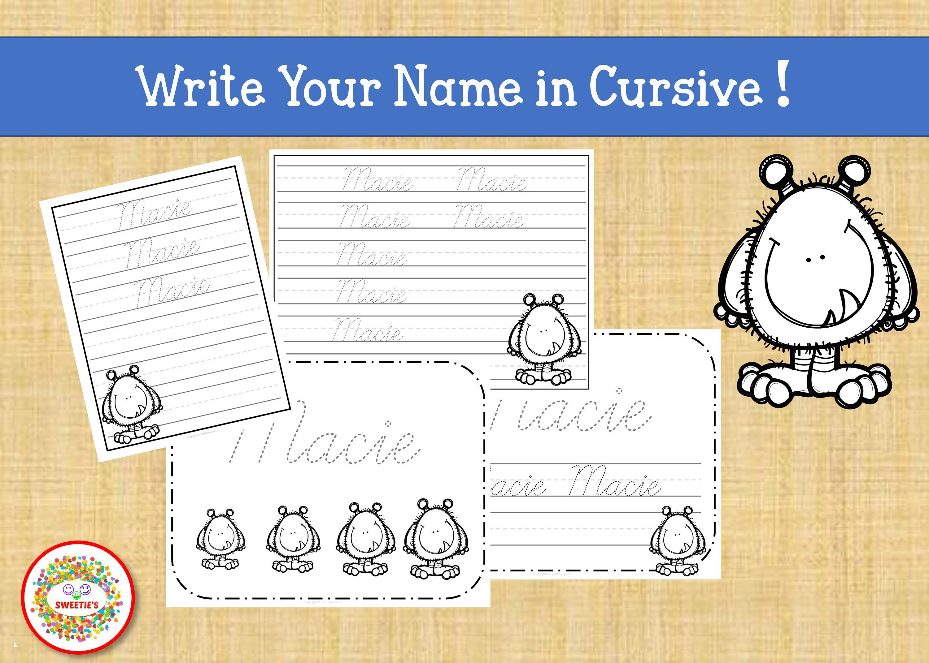 Name Tracing Handwriting Worksheet