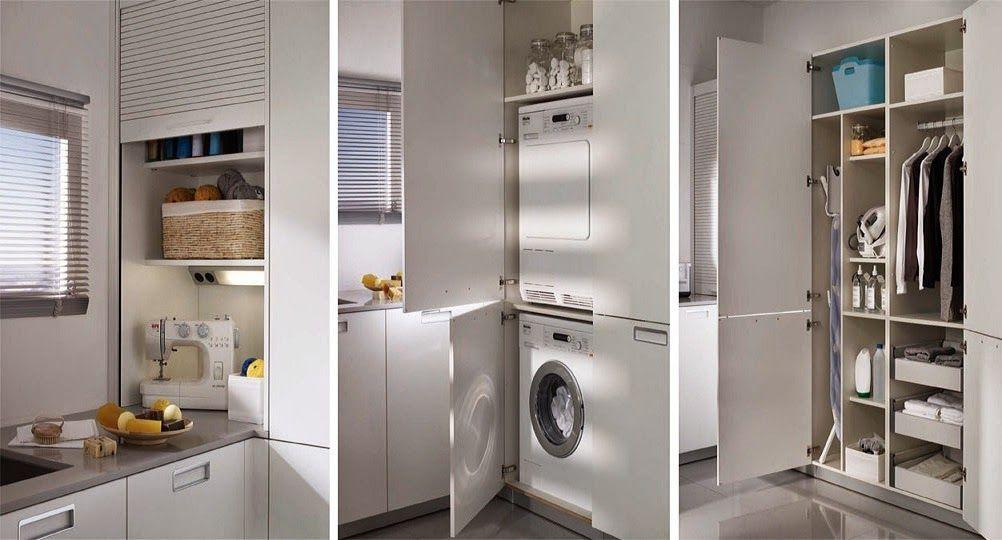 Integrar la zona de lavadero en la cocina lavadero en la for Modelos de lavaderos