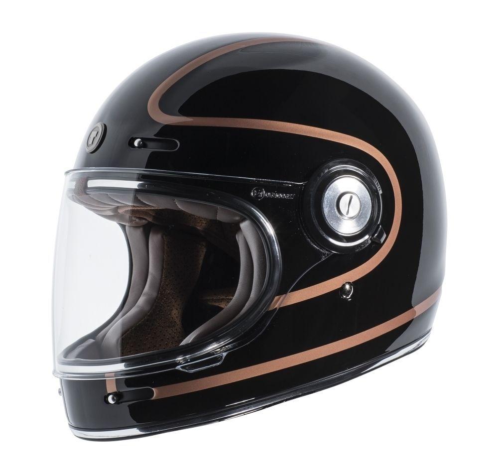 Torc T 1 Retro Full Face Motorcycle Helmet Copper Pin Motorcycle Helmets Victory Motorcycles Vintage Motorcycles Royal Enfi In 2020 Helm Cafe Racer Helm Vintage Helm