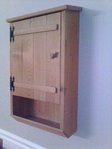 23+ Pine wall mounted bathroom cabinets ideas