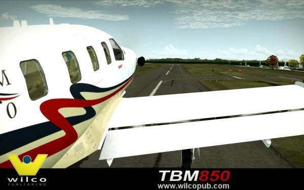 TBM 850  Videos FSX & Prepar3D, for new products, planes