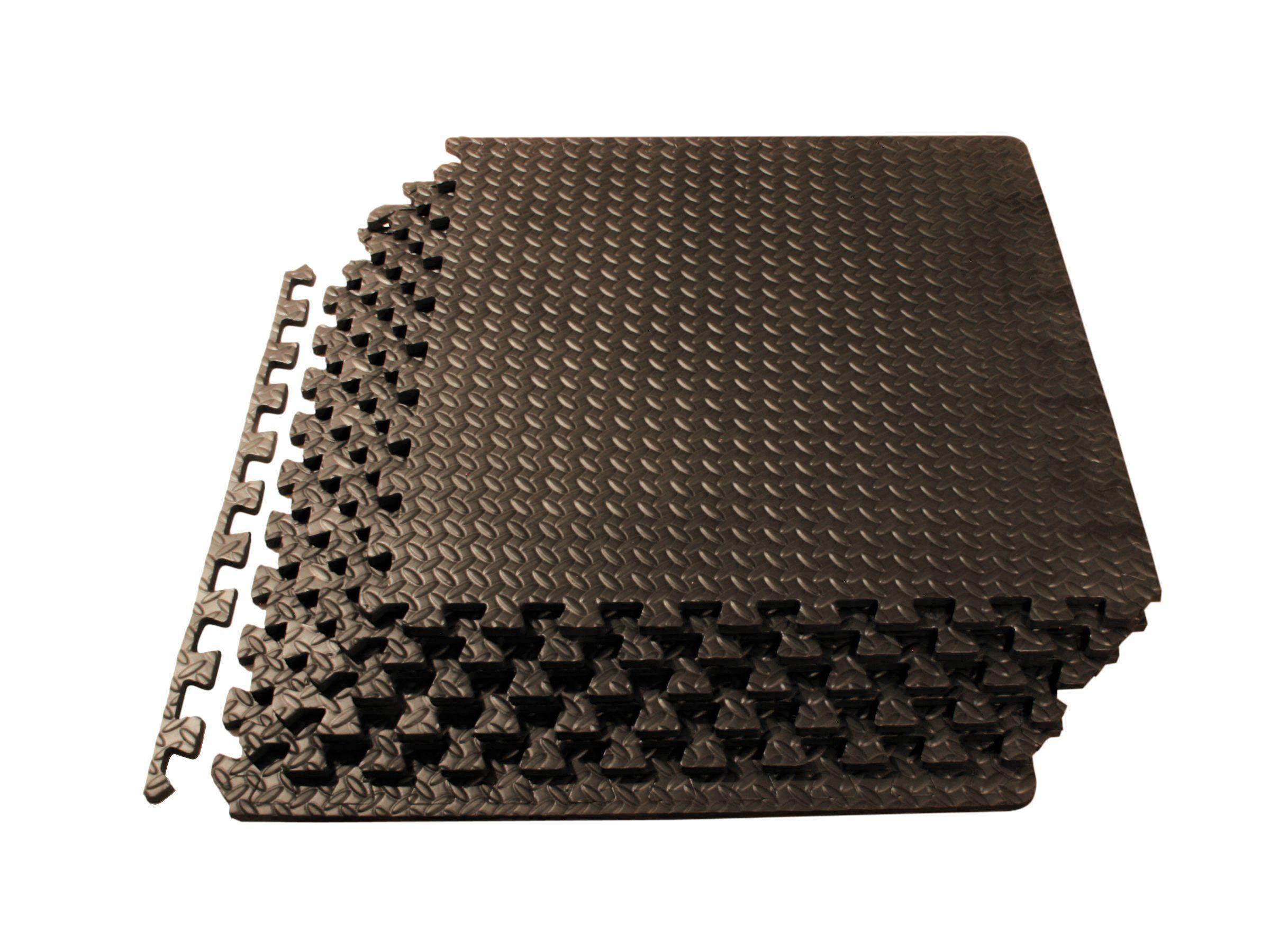 Prosource Puzzle Exercise Mat High Quality Eva Foam Interlocking