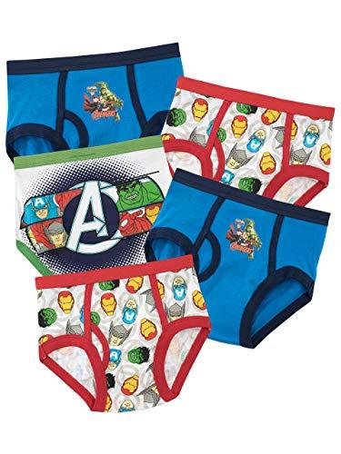 Photo of Marvel Avengers Boys Underwear – Paquete de 5-6 a 7 años